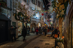 Christmas in Strasbourg.. (p_odel) Tags: streetphotography night street city cityscape jul christmas nightscape strasbourg