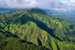 Kauai (Jeff Carlson) Tags: kauai hawaii helicopter island mountains green lush tropical aerial maunaloahelicopters