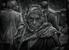 Portrait (alphonso49uk) Tags: portrait old woman blackandwhite rx10m4 candid street shimla