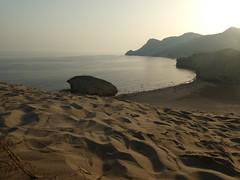 Atardecer en Monsul (jantoniojess) Tags: almería costaalmeriense playa playademonsul monsul andalucía españa spain mar sea paisaje landscape beach arena sand dunas dune dunasdemonsul panasonictz90 sunset