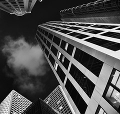 Night time H K (Elsegood Collections) Tags: architecture building monochrome blackandwhite hongkong night nikon sigma d7100