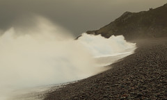 Man & Atiyah! (EmPhoto.) Tags: storm december hightide hurlestonepoint exmoor emmiejgee landscapepassion uk canoneos80d canonef24105f4 bigwave atiyah