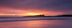 Take a Chance on Me (ianbrodie1) Tags: dunstanburghcastle beach sunrise northumberland northeast leefilters coast coastline cloud waves historic castle