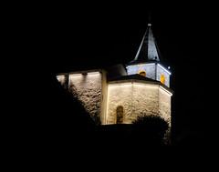 Eglise de Saillon la nuit (Jean-Marc Linder) Tags: église nuit saillon valais suisse coth coth5