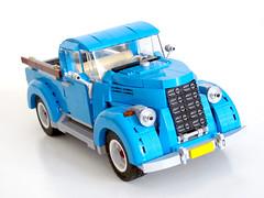 10252 Vintage pickup truck (NKubate) Tags: lego creator alternate 10252 vw beetle pickup truck vintage nkubate moc
