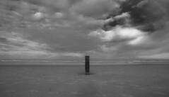 Clouds at Sea (Phil*ippe) Tags: northsea sea clouds water beach blackwhite black white noiretblanc noir blanc