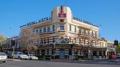 The Royal (Erich Schieber) Tags: architecture urban orange australia publicbar