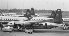 PK-JFI (Sempati Air) Fokker F-27-600 at CGK 131188 (kitmasterbloke) Tags: jakarta cgk sukarnohatta propliner indonesia 1988 airliner classic