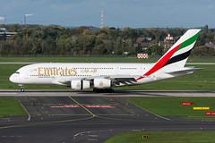 A6-EOO - Emirates - Airbus A380-861 (5B-DUS) Tags: a6eoo emirates airbus a380861 a388 dus eddl dusseldorf düsseldorf airport airplane aircraft aviation flughafen flugzeug planespotting plane spotting