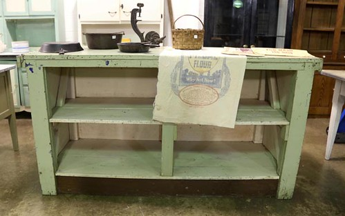Green Painted Store Counter ($324.80)