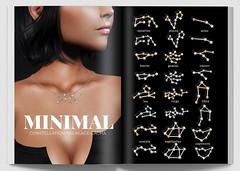 MINIMAL - Constellation Necklaces Gacha (MINIMAL Store) Tags: minimal constellation necklaces gacha jewelry jewellery accessories kustom9 secondlife slevent event female