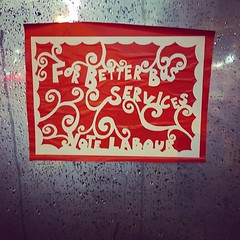 Better Public Transport #GE2019 #papercut #art #craftivism (Keith Bloomfield) Tags: ifttt instagram iphoneography