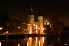 Oostpoort (J.Giesselbach) Tags: oostpoort oost poort delft nederland netherlands the night