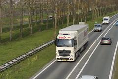 Mercedes-Benz Actros Selman met kenteken 37-BJD-6  op de A15 bij Bemmel 09-04-2019 (marcelwijers) Tags: mercedesbenz actros selman met kenteken 37bjd6 op de a15 bij bemmel 09042019 mercedes benz truck trucks lkw camion vrachtwagen vrachtauto lingewaard gelderland nederland niederlande netherlands pays bas