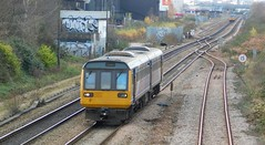 Pacer Swansong - Brightside, South Yorkshire (The Black Country Spotter) Tags: northern class142 pacer railbus dmu diesel multipleunit noddingdonkey brightside sheffield south yorkshire leeds networkrail britishrailways 142034 trains trainspotting