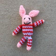 Olivette the miniature meta pig (crochetbug13) Tags: crochet crocheted crocheting crochetpig amigurumipig diy makers freepattern