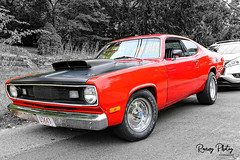 1972 Plymouth Duster (robtm2010) Tags: usa canon massachusetts newengland eastcoast plainville auto car automobile plymouth duster 7d vehicle 1972 carshow musclecar motorvehicle canon7d plainvillefallfestival 2018plainvillefallfestival