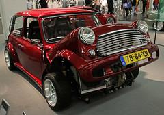 VTEC Mini (Schwanzus_Longus) Tags: essen motorshow german germany uk gb great britain british england english old classic vintage car vehicle compact austin mini honda awd vtec