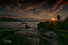 The last ray... (Francis Minini (On-Off)) Tags: seascapes sunset