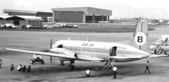 PK-KHL Hawker Siddeley HS-748 Srs2A/216 - Bali Air CGK 131188 (kitmasterbloke) Tags: jakarta cgk sukarnohatta propliner indonesia 1988 airliner classic