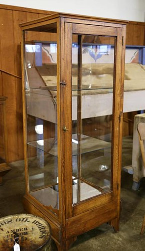 Store Display Cabinet with glass shelves ($324.80)