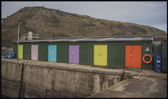 Lock Up's DSC_4341 (dark-dave) Tags: lockups burnmouth coastal sheds colour doors scotland scottishborders