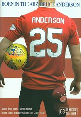 Aberdeen v Rangers 20191204 (tcbuzz) Tags: aberdeen football club spfl premiership pittodrie stadium scotland programme