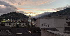 Sunset in the spectacular Vista Hermosa (restaurant - 'Lovely View'), Quito´s Historic Center at an elevation of 2,850 metres (9,350 ft) above sea level, Ecuador. (ER's Eyes - Our planet is beautiful.) Tags: oldtown centrohistórico barriohistórico unesco ecuador equador quito theandes trip travel southamerica osandes unescoworldheritagesite lacapital thecolonialcenterofquito thehistoriccenterofquito elcentrohistóricodequito panoramasoverquito piscosour poente sunset vista drink coquetel restaurante restaurant vistahermosa vistahermosarestaurantmirador landscape view scenery
