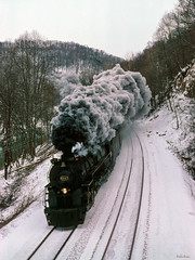 614T at Milton, WV (thechief500) Tags: usa wv milton railroads chessiesystem ace3000 j3a 614t lima greenbrier