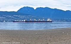 Ships  -  Vancouver 11 19 (Mikey G Ottawa) Tags: mikeygottawa canada bc vancouver jerichobeach burrardinlet freighter ships westvancouver coastalmountains sleepinggiant wisdomline