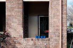 Potted Plants (Erich Schieber) Tags: architecture suburbia australia potplants