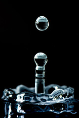 Droplet (latkaphotography) Tags: droplet water studio macro