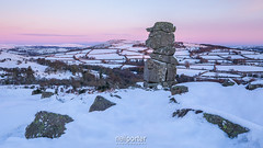 Iced Nose (www.neilporterphotography.com) Tags: bowermans nose dartmoor winter snow ice belt venus