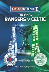 Rangers v Celtic 20191208 (tcbuzz) Tags: sfl league cup final scottish scotland rangers football club celtic hampden park glasgow programme