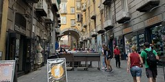 Walking around Naples (dw*c) Tags: naples napoli nikon italy italia italio ital europe travel trip holiday holidays travelling tour tourist shop shopping picmonkey