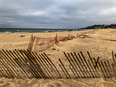 Holland Lighthouse (4) (tquist24) Tags: hff holland hollandstatebeach lakemichigan michigan nikon nikond5300 outdoor beach cellphone clouds cloudy fence geotagged iphone iphonex lake outside sand sandy sky water