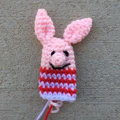 IMG_2767 (crochetbug13) Tags: crochet crocheted crocheting crochetpig amigurumipig diy makers freepattern