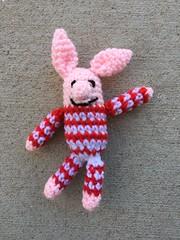 IMG_2768 (crochetbug13) Tags: crochet crocheted crocheting crochetpig amigurumipig diy makers freepattern