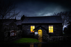 12th December 2019 (Rob Sutherland) Tags: polling station democracy village hall lowick community cumbria cumbrian england english uk britain british wet dark gloomy rain dank vote voting democratic lakes lakeland lakedistrict nationalpark ldnp