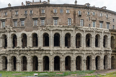 he Theatre of Marcellus was an ancient open-air theatre. (Peter.Stokes) Tags: buildings cruise2019 historic history holiday italy landscape mediteranian old photo photography rome ruin ruins appartments theatreofmarcellus theatreofmarcellusrome marcellotheaterrome marcellotheater