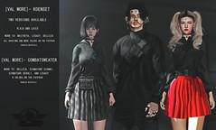 [Val'More] CombatSweater x KoenSet (Filippo Tutti - [Val'more]) Tags: vm valmore work 3d blender zbrush maya sl access man dark pocket hud color materials kawai blood corps