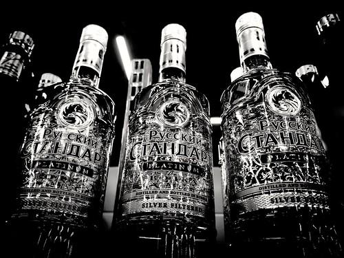 Russian Standard vodka ©  Sergei F