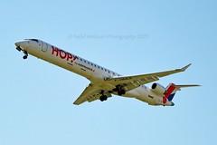 Hop! F-HMLE Bombardier CRJ-1000EL (CL-600-2E25) cn/19009 @ LFPO / ORY 20-04-2015 (Nabil Molinari Photography) Tags: hop fhmle bombardier crj1000el cl6002e25 cn19009 lfpo ory 20042015