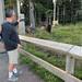 Ewa, Ula, Marek visit.. hike up Grouse..