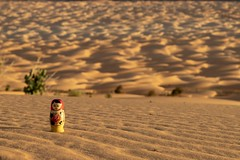 Matreshka in the Amatlich sand dunes stretch, Mauritania (valerian.guillot) Tags: matrioshka canon zeiss carlzeiss aposonnart2135