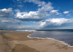 Let's head for the beach! (edenseekr) Tags: jerseyshore ocean beach waves sandy sunny