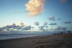 (jmphoto84) Tags: sunset clouds beach socal olympus xa fujicolor c200 film longlivefilm