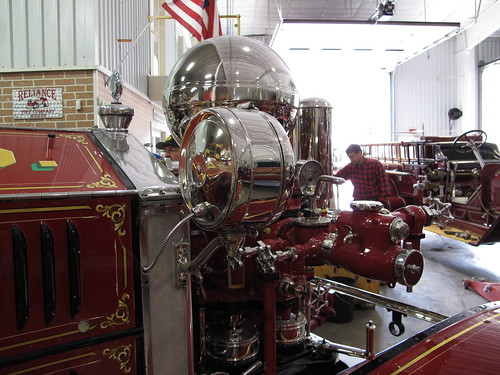 1925 Ahrens Fox JS4 Pumper