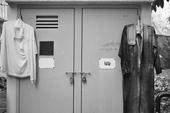 (a.pierre4840) Tags: olympus olympustrip35 40mm f28 35mmfilm kodak colorplus200 desaturated bw blackandwhite noiretblanc urban decay kowloon hongkong fotor