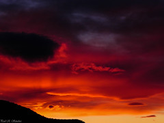 A Special Gift (paulsanchez7) Tags: newmexico beautiful sunset magical colors orange red
